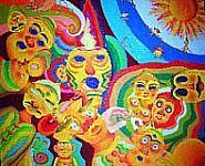 Maschere - Opera dell'artista Adriano Janezic