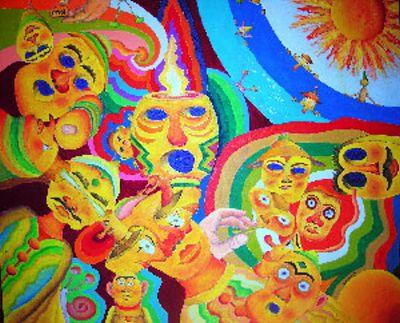 Opera dell'artista Adriano Janezic