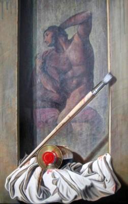 Essenza - 40x60 Olio su legno