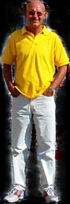 L'artista Giuliano Cento