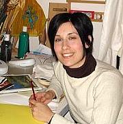 L'artista pittrice Marilena Maglio