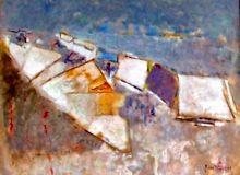 Mercato 68x52 - Olio su tavola