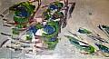 Senza titolo - 102x55 - Olio su tela