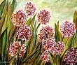 Fiore di Aglio - 50x60 - Opera di Fiorella Boldini