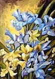 Iris - 50x70 - Olio su tela