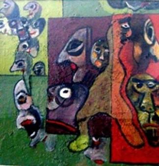 Incomunicabilità, separazione e fuga - Opera dell'artista Lodovico Mancusi