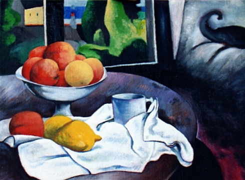 Omaggio a Paul Gauguin - Olio su tela 50x40