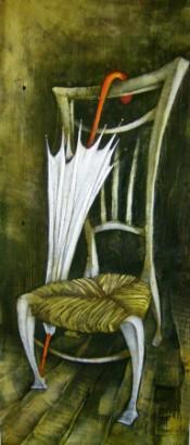 Da Van Gogh c'è la signora 100X40 - 2007