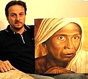 L'artista pittore Sandro Manetti