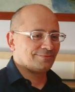L'artista pittore Stefano Tamburini