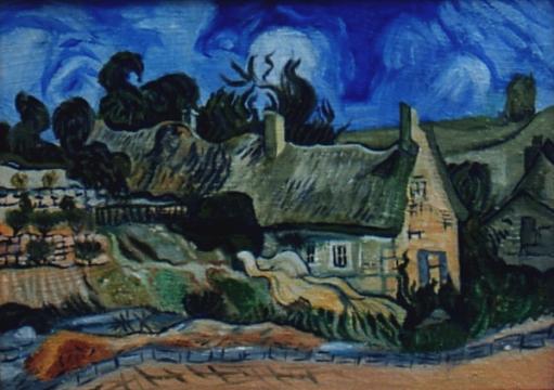 Omaggio a Vincent Van Gogh - Olio su tela 30x40