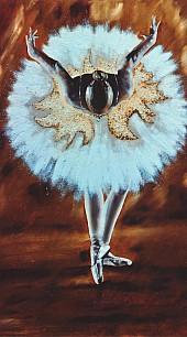 La danzatrice - Opera dell'artista Mariarosaria Botta