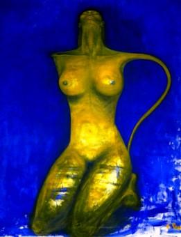 La donna brocca - Opera dell'artista Francesca Pani