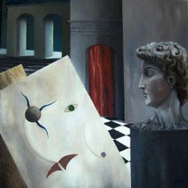 Passaggi incontrovertibili - opera dell'artista Giovanni Greco