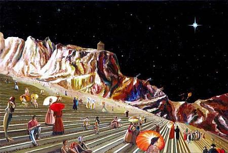 Al di là dei sogni II - Opera di Roberto Cafarotti