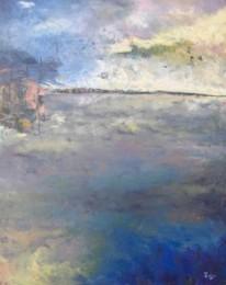 Casoni da pesca sotto il temporale - Silvio Zago