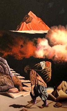 Il montanaro - Opera dell'artista Fabio Filippini