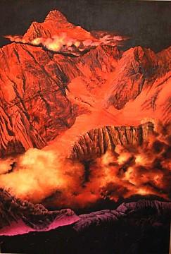 I monti dell'anima - Opera dell'artista Fabio Filippini