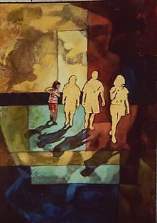 Turisti - Opera dell'artista Mara Isolani