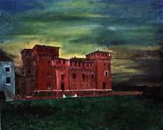 Castello di Mantova - 30x40 - Tempera su tela