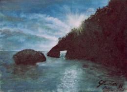 Scorcio di Sardegna opera dell'artista Gianni Muntoni