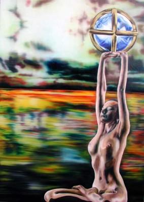 Sarash - Olio su tela 58x80 - anno 2006