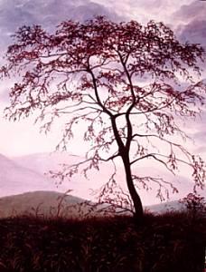 La grande quercia - opera dell'artista Patrizia Maffei
