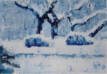 Macchie sotto la neve - Opera di Vittoria Nidasio