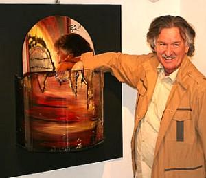 L'artista pittore Paolo Napolitano