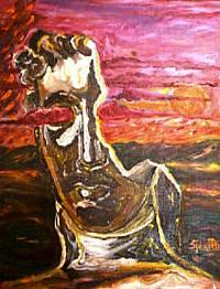 Identità distrutta - Opera dell'artista Rosa Spinillo