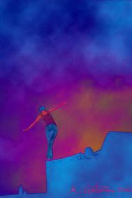 Società: equilibrio instabile - Opera di Alessandro Ventura