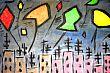 24 libertà oilo su tela 100x70