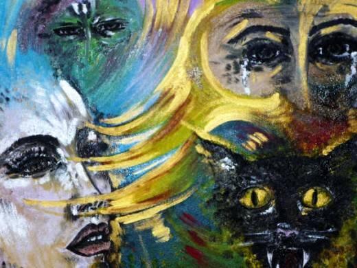 Opera dell'artista Annalisa Civicchioni
