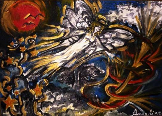 Caduti dal cielo - Opera di Annalisa Civicchioni