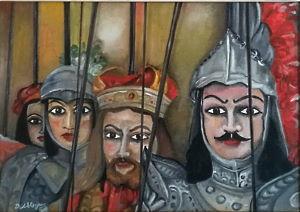 Opera dell'artista Mimmo Allegra