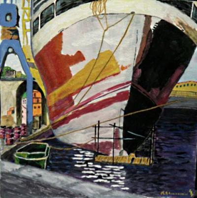 Carenaggio - Opera di Renato Alessandrini