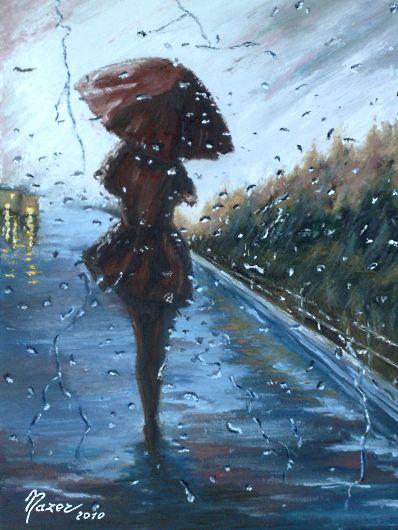 Luci sotto la pioggia - Opera vincitrice del concorso PITTart